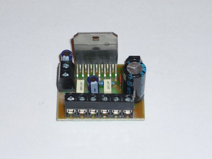 Obrázek zboží Zesilovač 2x25W nf stereo s TDA7375 - malé rozměry, STAVEBNICE
